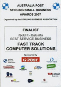 Fast Track Computer Solutions Awards